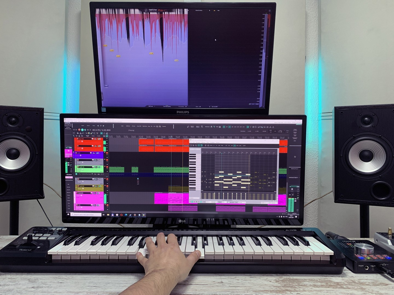Записать песню в студии в Москве